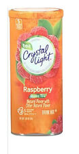 Crystal Light Drink Mix Raspberry Green Tea 10 Quarts per canister Choose Size