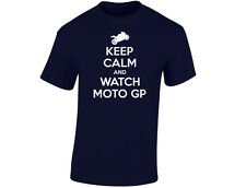 Keep Calm And Watch Moto GP Mens Funny T-Shirt (12 Colours)