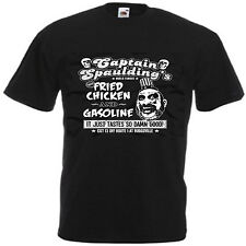 CAPTAIN SPAULDING HOUSE OF A 1000 CORPSES ROB ZOMBIE CLOWN T-SHIRT  NEW
