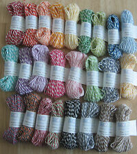 15 Yards of Bakers Twine - The Twinery/Divine Twine - Choose from 40 Colors!