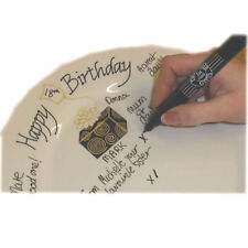 Personalised 18th, 21st, 30th, 40th and 50th Birthday Signature Plates