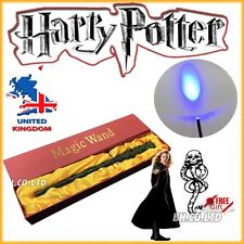 Hogwarts Granger's Hermione LED Voldemort Magic Magical Wand + Free Tatoo