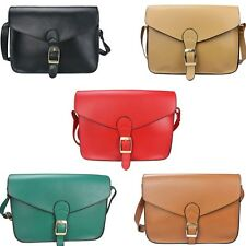 Fashion Womens PU Leather Shoulder Messenger Bag Crossbody Satchel Handbag