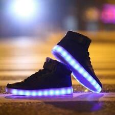 Men Women Lovers Night Light Flash Turnschuhe Lace Up Schuhe Sneakers Shoes New