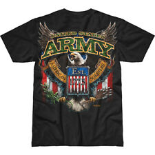 7.62 DESIGN MENS ARMY FIGHTING EAGLE BATTLESPACE T-SHIRT AIRSOFT PAINTBALL TOP