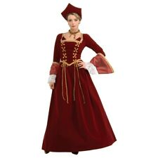 Faire Maiden Adult Womens Renaissance Medieval Lady Deluxe Costume Fancy Dress