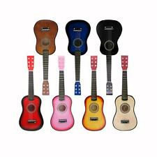 """23"""" Basswood Mini Guitar for Kid Musical Toy Acoustic Stringed Instrument"""