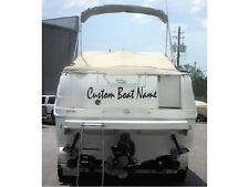 Custom Vinyl Boat Name Lettering - Personalized Sticker Decal Window Graphics