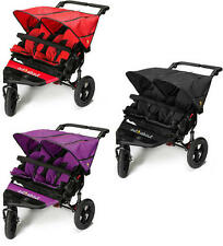 OUT 'N' ABOUT NIPPER DOUBLE V4 BABY/TODDLER/CHILD PUSHCHAIR BUGGY STROLLER NEW