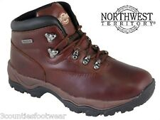 WALKING BOOTS - GENTS HIKING BOOTS  WATERPROOF LEATHER  6 7 8 9 10 11 12 13