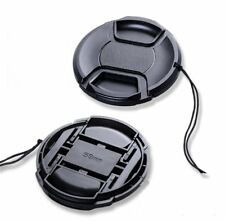52-82mm Snap-on Style Front Lens Cap for Canon Nikon Sony Pentax Olympus DSLR