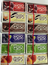 RIPS Cigarette Rolling Rip Rizla Papers 'PICK n MIX' FLAVOURS - Random Flavours