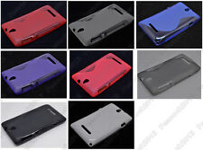 Multi Color S-Types TPU Gel CASE Cover For Sony Xperia E dual C1605 C1505 C1504