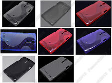 Multi Color S-Types TPU Silicone CASE Cover For Sony Xperia S LT26i