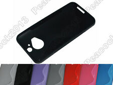 Multi Color S-Types TPU Silicone CASE Cover For HTC One M9 Plus M9+