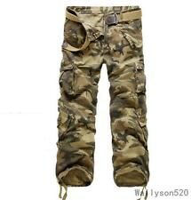 7 COLORS  MENS  CASUAL TACTICAL OVERALLS PANTS MILITARY CARGO COMBAT TROUSERS