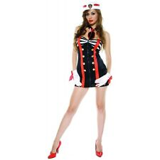 Sailor Costume Adult Sexy Pin-Up Girl Halloween Fancy Dress
