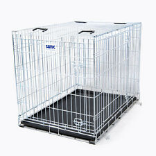 Savic Residence Secure Dog Cage Puppy Metal Wires Travel Folding Crate Car Boot