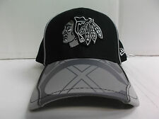 Chicago Blackhawks Cap New Era 39Thirty Stretch Fit Fitted Team Illusion Hat NHL