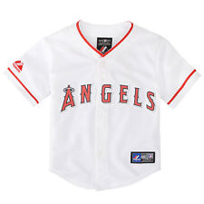 NWT Majestic Los Angeles Angels of Anaheim Toddlers Home Replica Jersey 2T-4T