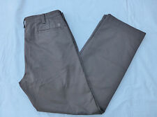NWT MENS HAGGAR LIFE KHAKI PLAIN FRONT RELAXED STRAIGHT PANTS $65 BROWN HC10249