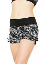 Green Apple GS2401W 3-Inch Watercolor Yoga Shorts Bamboo from Eco-Friendly