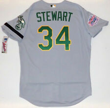 DAVE STEWART AUTHENTIC OAKLAND A's 1989 WORLD SERIES MAJESTIC ROAD JERSEY NEW