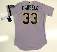 JOSE CANSECO AUTHENTIC OAKLAND A's 1989 WORLD SERIES MAJESTIC ROAD JERSEY NEW