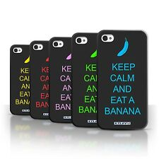 STUFF4 Back Case/Cover/Skin for Apple iPhone 4/4S/Keep Calm