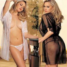 Hot sexy lingerie women sexy underwear pajamas women suits bath robe G-string LC
