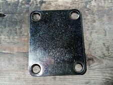 Aged Stratocaster / Telecaster / Bass Guitar Neck Plate  (screws included)