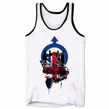 Union Jack Mod Subculture Scooter Northern Soul SKA Music Mens Low Cut Vest