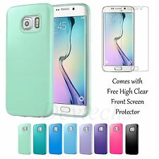 Ultra Thin Rubber Gel TPU Skin Accessory Case Cover for Samsung Galaxy S6 edge