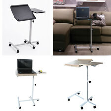 Modern Rolling Angle Height Adjustable Laptop Desk Over Bed Hospital Table Stand