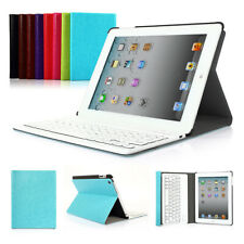 Smart Leather Case Cover with Bluetooth Wireless Keyboard for iPad2 3 4
