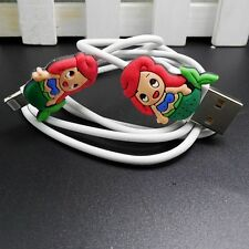 NEW USB Data Charger Cable Sync Cord with Cartoon Charm for iPhone 5C/5S/6/6plus