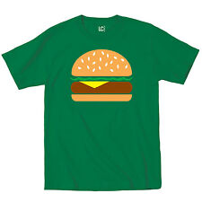Burger Cartoon Picture Cute Foodie Food Truck Bacon Urban Novelty - Mens T-Shirt