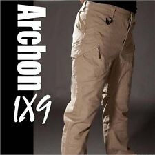 Mens Outdoor Military Tactical Combat Trousers Hiking Camping Cargo Casual Pants