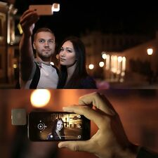 Mini 3.5mm Smart Selfie 16 LED Camera Flash Light For IOS Android iPhone 5s 6 6+