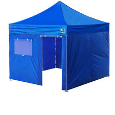New Eurmax 10x10 Ez Pop Up Canopy Outdoor Tent+4 Walls+Wheeled bag WATERPROOF