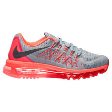 Nike AIR MAX 2015 - 698903 009 - New Womens Grey Running Shoes Training Sneakers