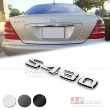 S430 REAR TRUNK LETTER EMBLEM BADGE for ALL MERCEDES BENZ S CLASS W220 AMG CAR