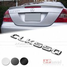 CLK550 REAR BOOT TRUNK LETTER EMBLEM BADGE for MERCEDES BENZ CLK CLASS W209 CAR