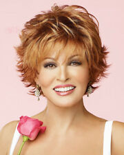 Voltage Wig Raquel Welch (Instant 10% Rebate) Wispy Bang Short Large or Avg Cap