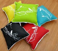 "18"" x 18"" Cotton Canvas Cushion Cover Bird Home Sofa Car Decorative Pillow Cases"