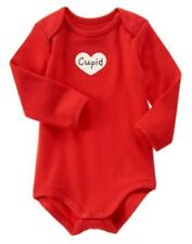 GYMBOREE VALENTINES DAY RED CUPID HEART L/S BODYSUIT 0 3 6 12 18 NWT