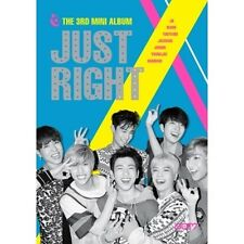GOT7 - Just Right (3rd Mini Album) [CD+Booklet+Photo Card+Photo+Poster+Gift]