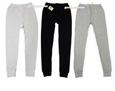Mens Cotton Thermal Long Johns / Pants  Underwear Black White Grey