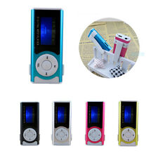 16GB Mini Clip USB MP3 Music Media Player With LCD Screen Support Micro SD TF