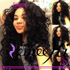 """14""""~22"""" Full/ Front Lace Wigs 100% India Remy Human Hair Malaysia Wave"""